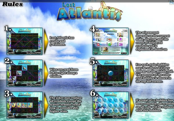 Lost Atlantis Slot - Play this iSoftBet Casino Game Online