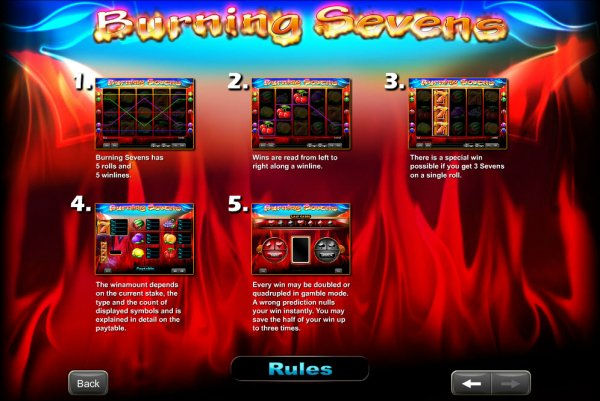 casino online slot burn the sevens online spielen
