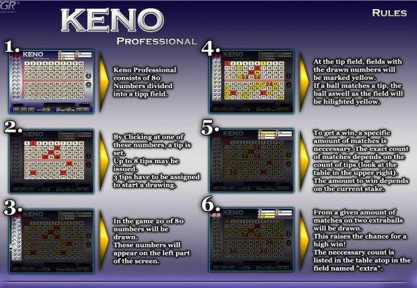 how to win on keno slots