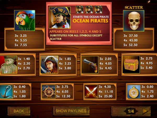 which online casino pays the best ocean online games