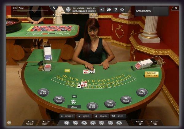 Live Blackjack HD 1 - Mobil6000