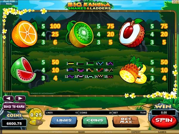 Big Kahuna Snakes & Ladders Slots - Play it Now for Free