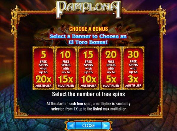 pamplona casino