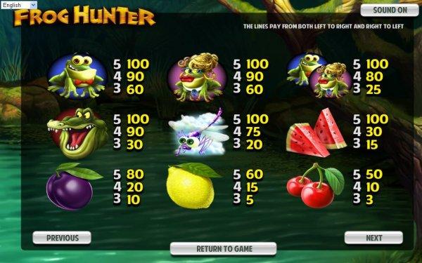 Frog Hunter Slot - Play Betsoft Casino Games Online