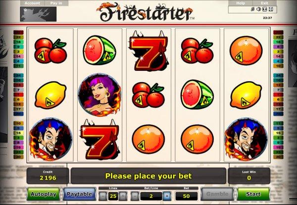 Firestarter Slot Gamemanual