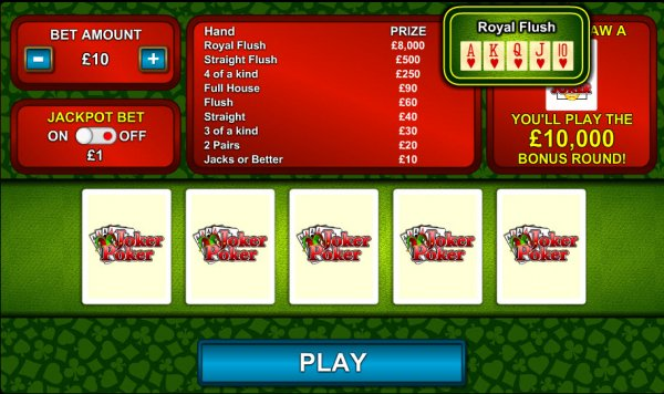 jackpot party casino online poker joker
