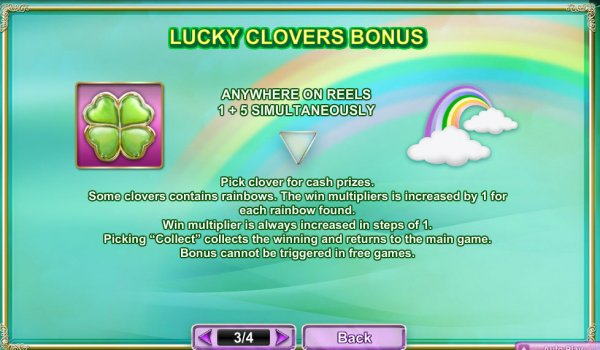 Rainbow Charms Slot Bonus Game