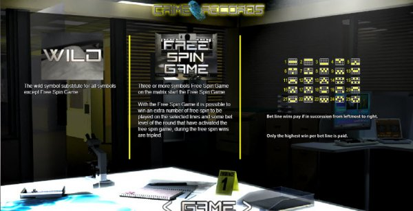 Crime Records™ Slot Machine Game to Play Free in WorldMatchs Online Casinos