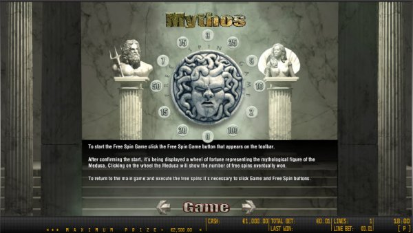 Mythos Slot - Read a Review of this World Match Casino Game