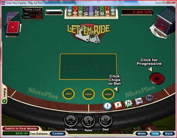 How do you play let it ride poker google free online slots games