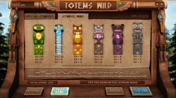Totems Wild Slot Machine Online ᐈ Cayetano Gaming™ Casino Slots
