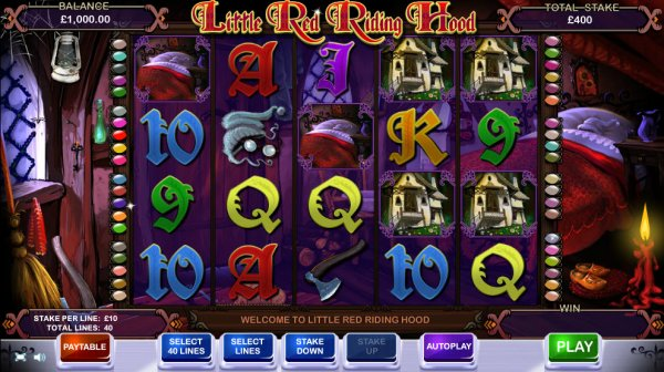online casino startguthaben red riding hood online