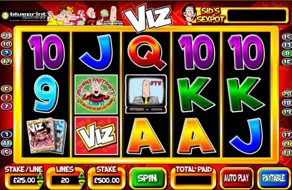 Viz Slot Game Reels