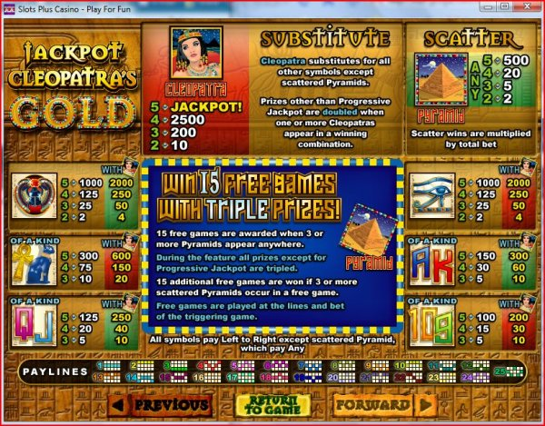 online casino jackpot cleopatra spiele