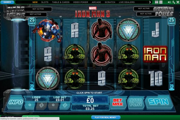 Casino iron man 3