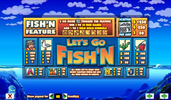 Lets Go Fishn Slot Machine Online ᐈ Aristocrat™ Casino Slots