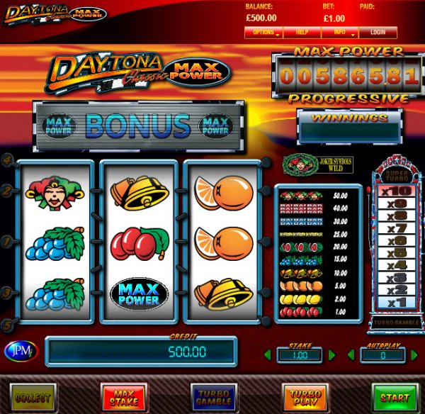online casino list power star