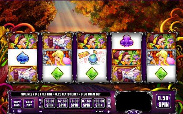 free alice slots