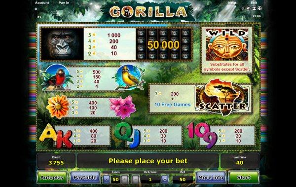 Бесплатный слот Gorilla Chief 2 — Играйте в онлайн слот от WMS