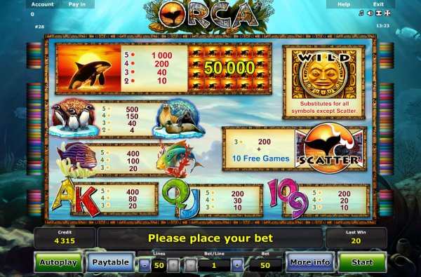 which online casino pays the best online orca
