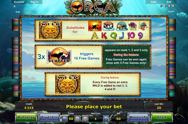 casino game online orca online