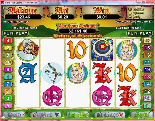 Prince of Sherwood™ Slot Machine Game to Play Free in Realtime Gamings Online Casinos