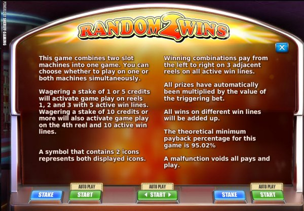 slots game rules