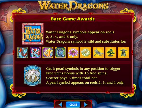 Water dragon slots