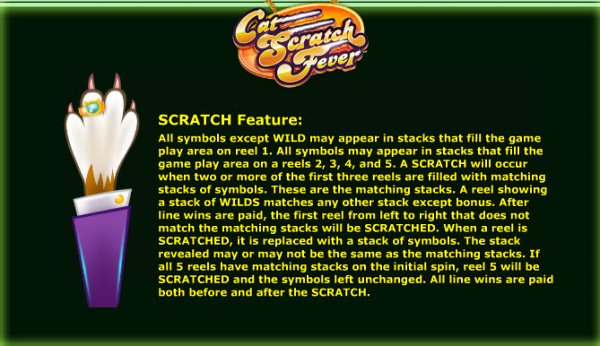 cat scratch fever slot