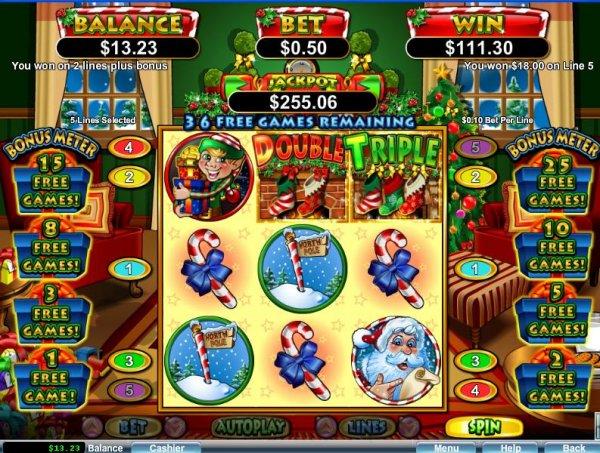 Santastic Slot Free Spins