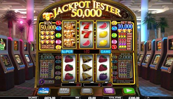 Wild Jester Slots Machine
