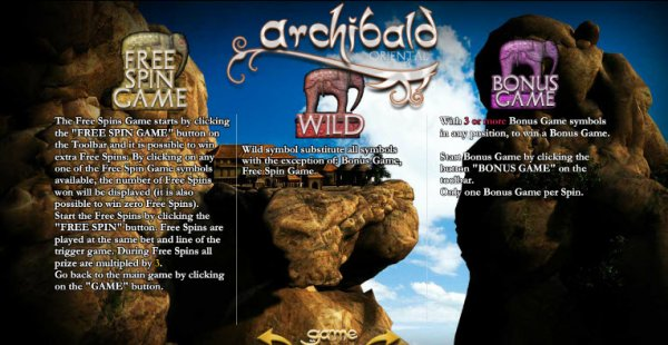 Archibald Orient Slot - Play for Free Online Today