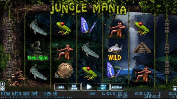 Spiele Jungle Mania - Video Slots Online