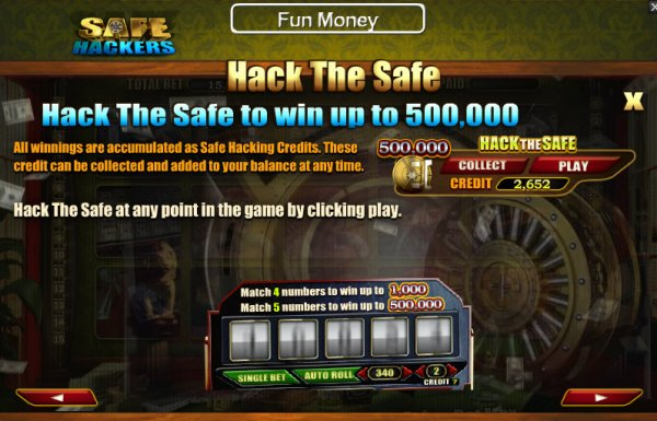 Safe Hackers Slots - Review & Play this Online Casino Game