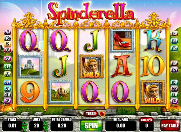 casino online slot spinderella