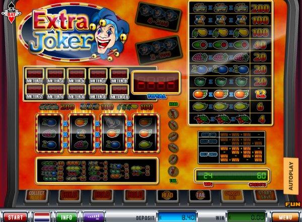 casino games extra