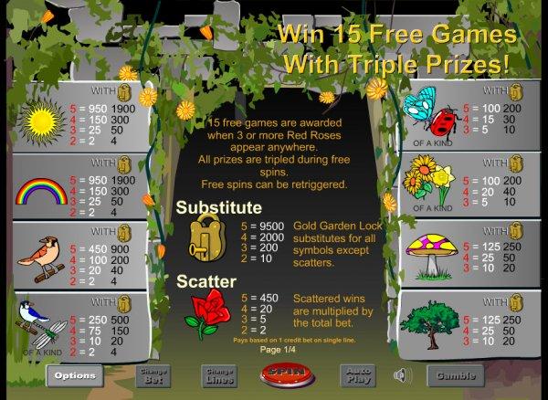 Secret Garden Slots - Play Free Eyecon Games Online