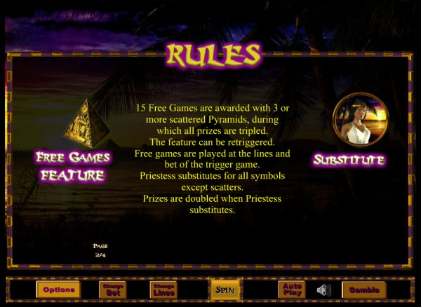 Temple of Isis Slot - Play Eyecon Games for Fun Online
