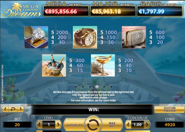 online casino click and buy mega fortune