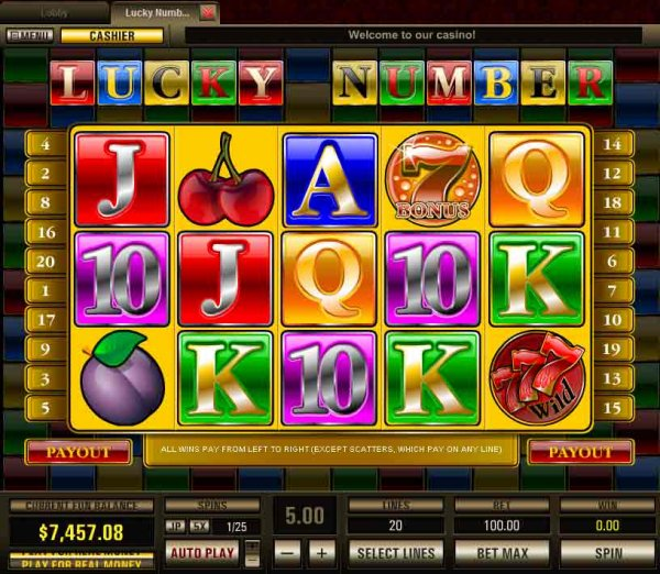 Lucky Number Slots by Pragmatic Play Ltd