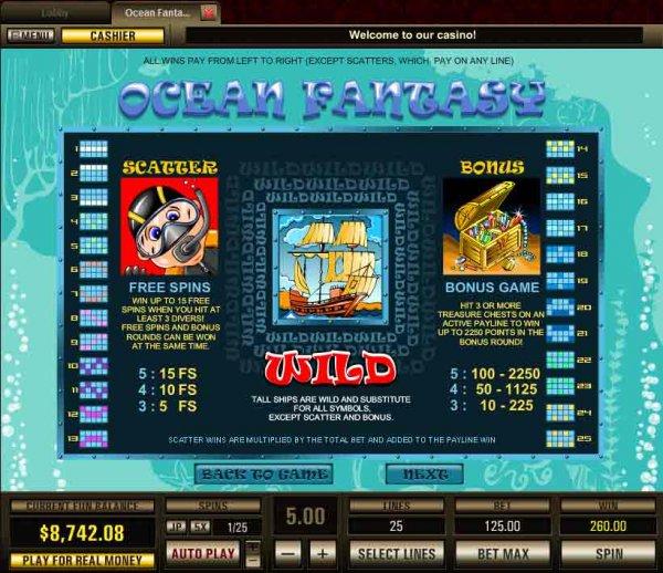 online casino forum ocean online games
