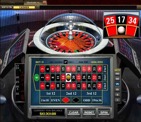 electronic casino games