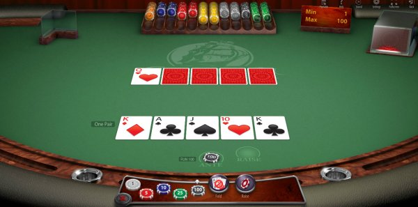 Caribbean Poker Browser Play