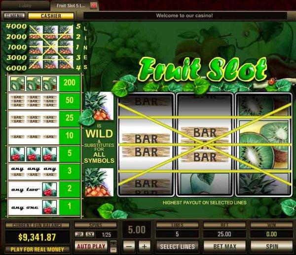 Slots paylines