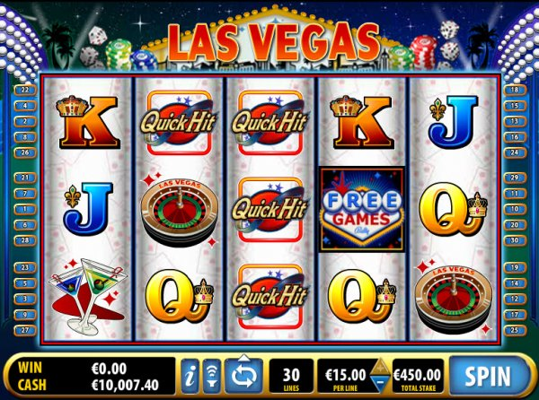 Quick Hit Las Vegas Slots