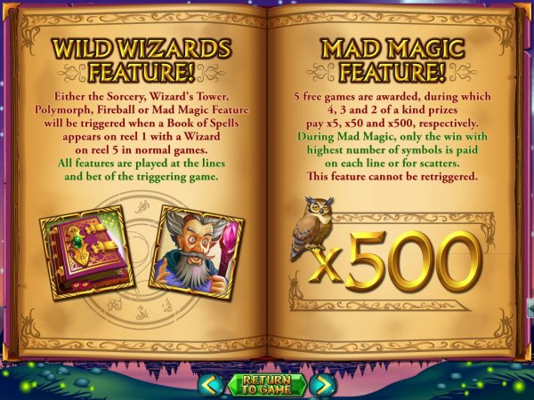online casino list wizards win