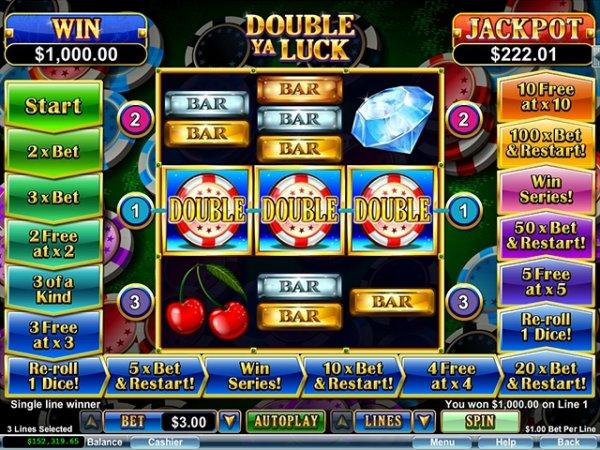 Double Ya Luck Slot Game Reels