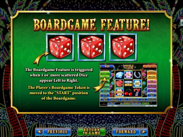 Double Ya Luck Slot Board Game Feature I