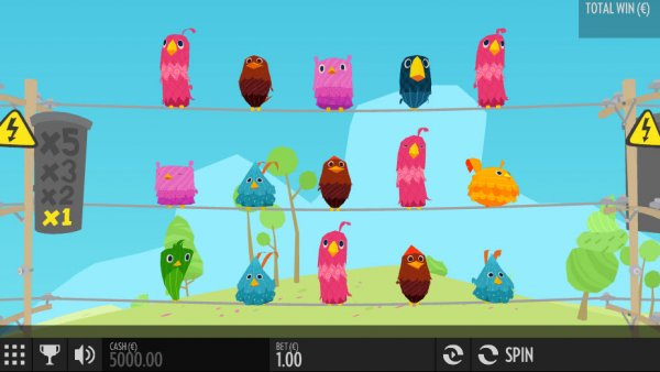 Birds on a Wire Slot Game
