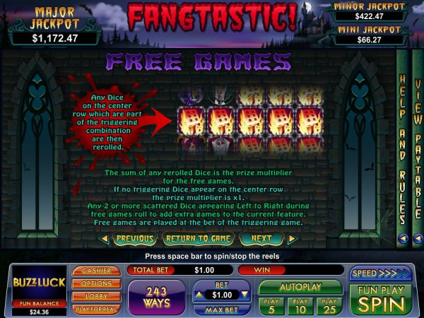 Fangtastic Slot - Read the Review and Play for Free